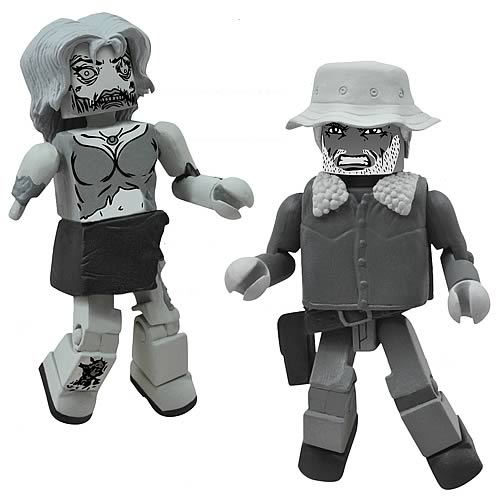 Walking Dead Minimates Black & White