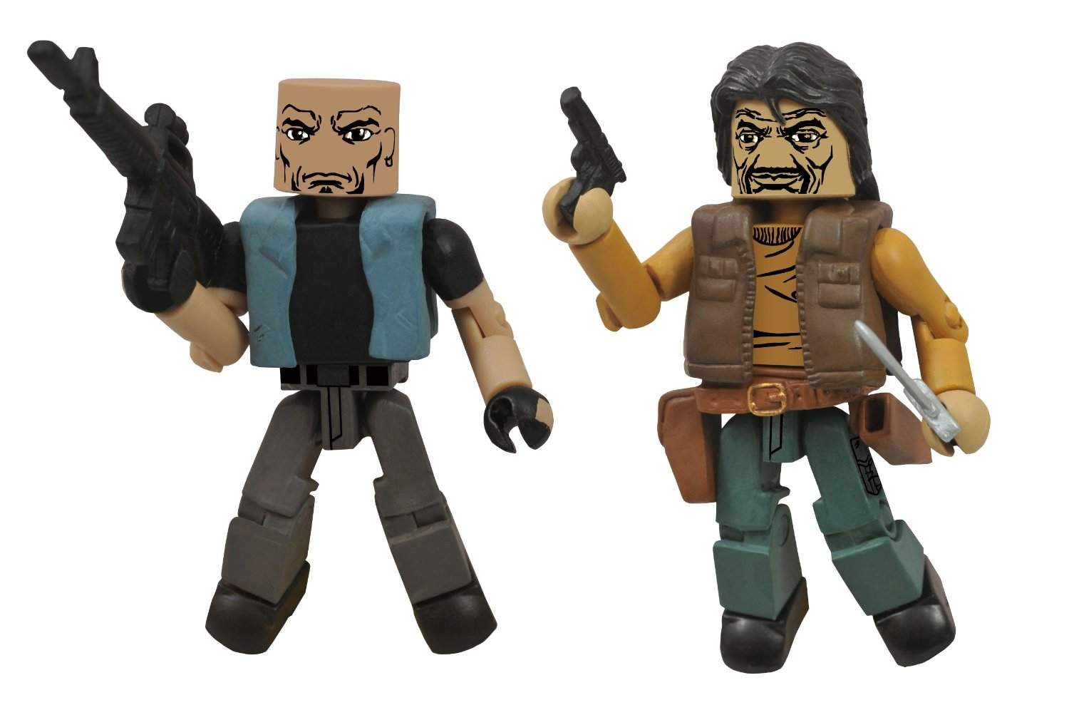 Walking Dead Minimates Governor and Gabe
