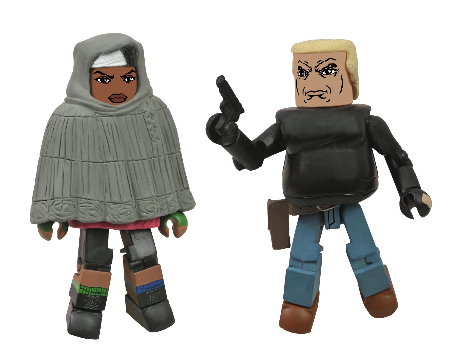 Walking Dead Minimates Michonne and Bruce