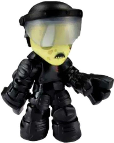Walking Dead Mystery Mini Prison Guard Walker