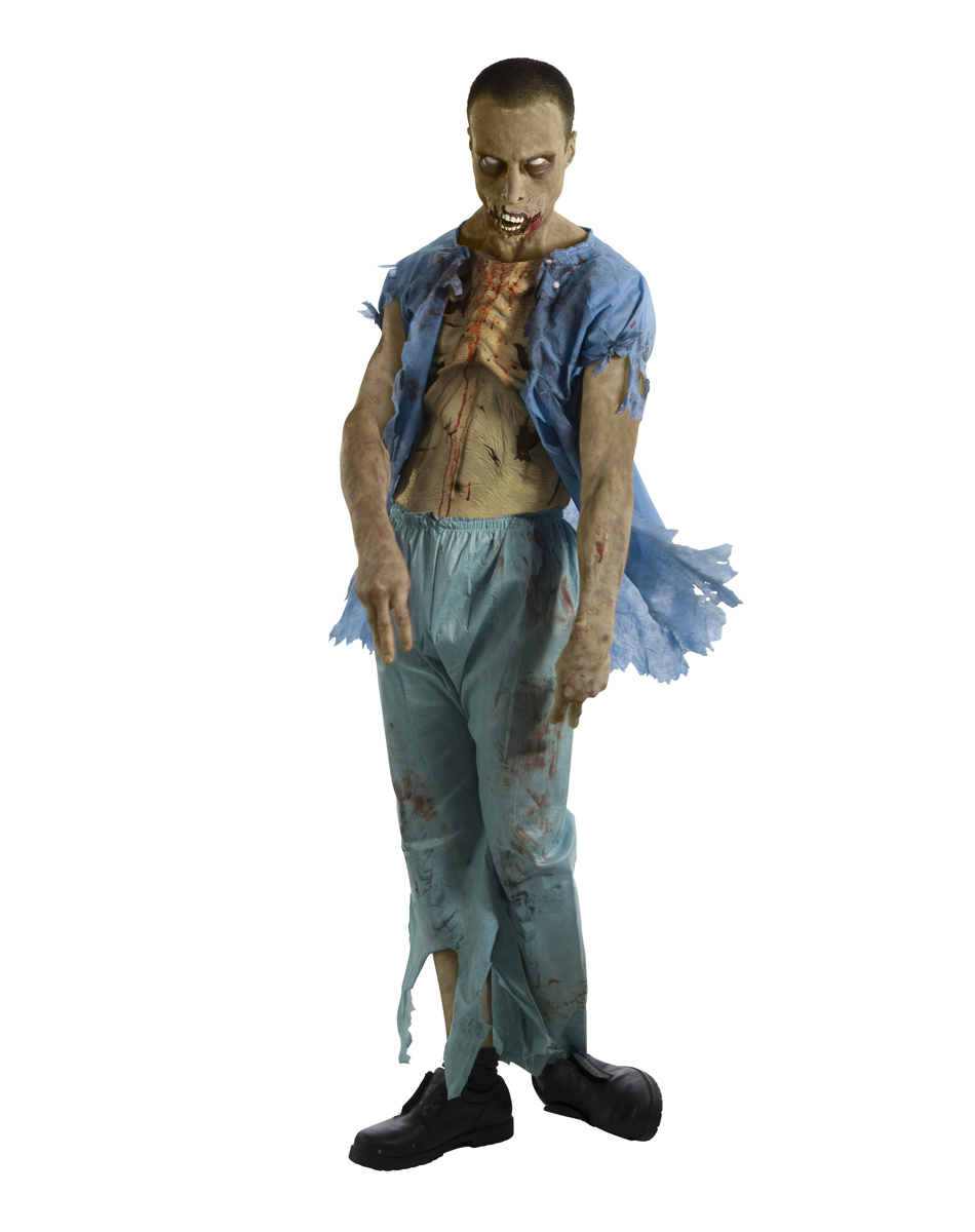 Walking Dead Patient Adult Mens Costume