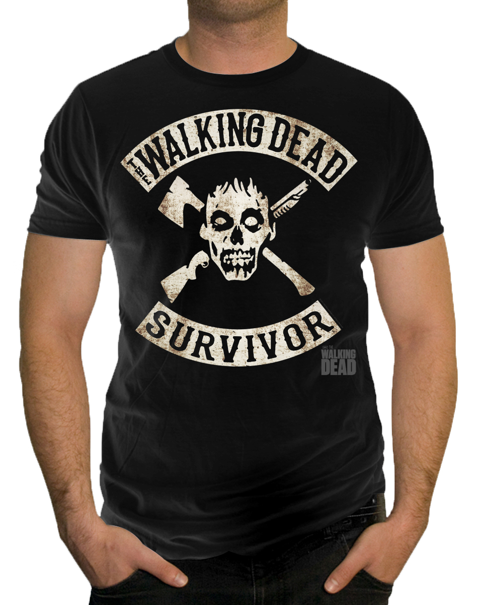 Walking Dead Survivor Adult T-Shirt