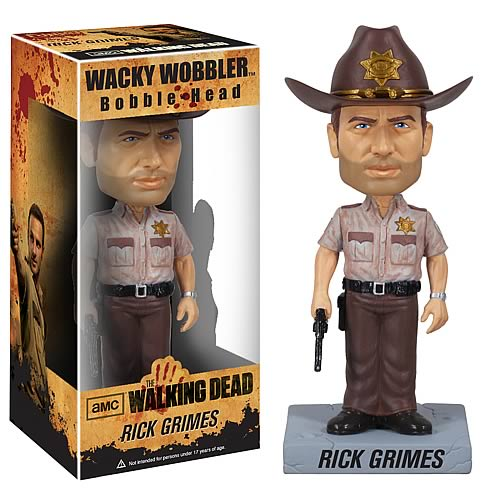 The Walking Dead Bobble Heads
