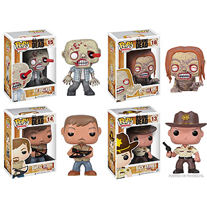 Walking Dead Vinyl Figure Set