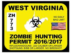 West Virginia Zombie Hunting Permits