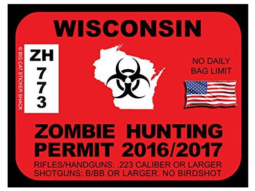 Wisconsin Zombie Hunting Permits