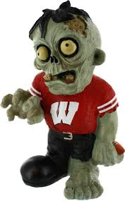 Wisconsin Zombie Figurines