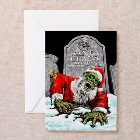 Zombie Christmas Cards (Pk of 10)