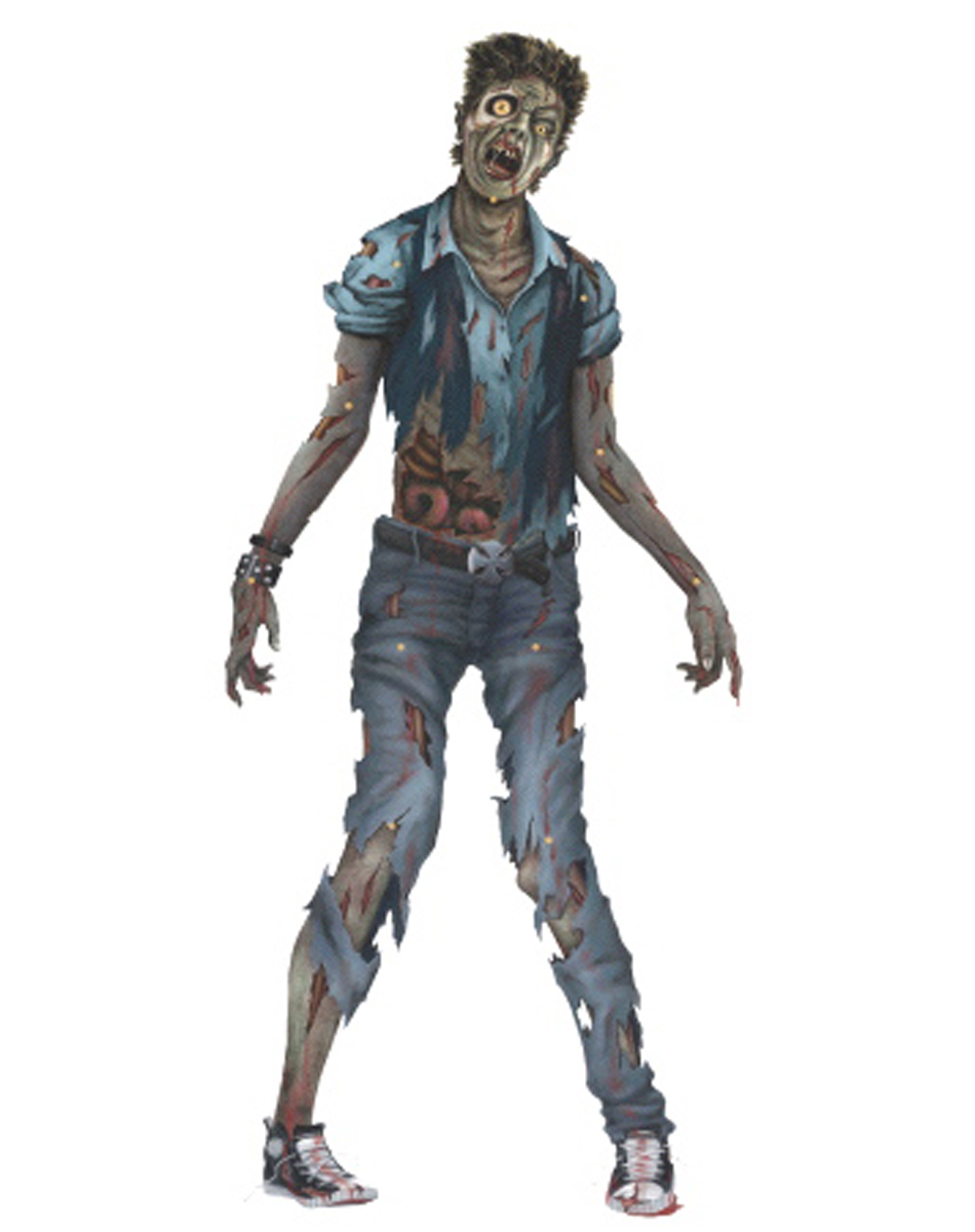Zombie Jointed Cut Out Decoration