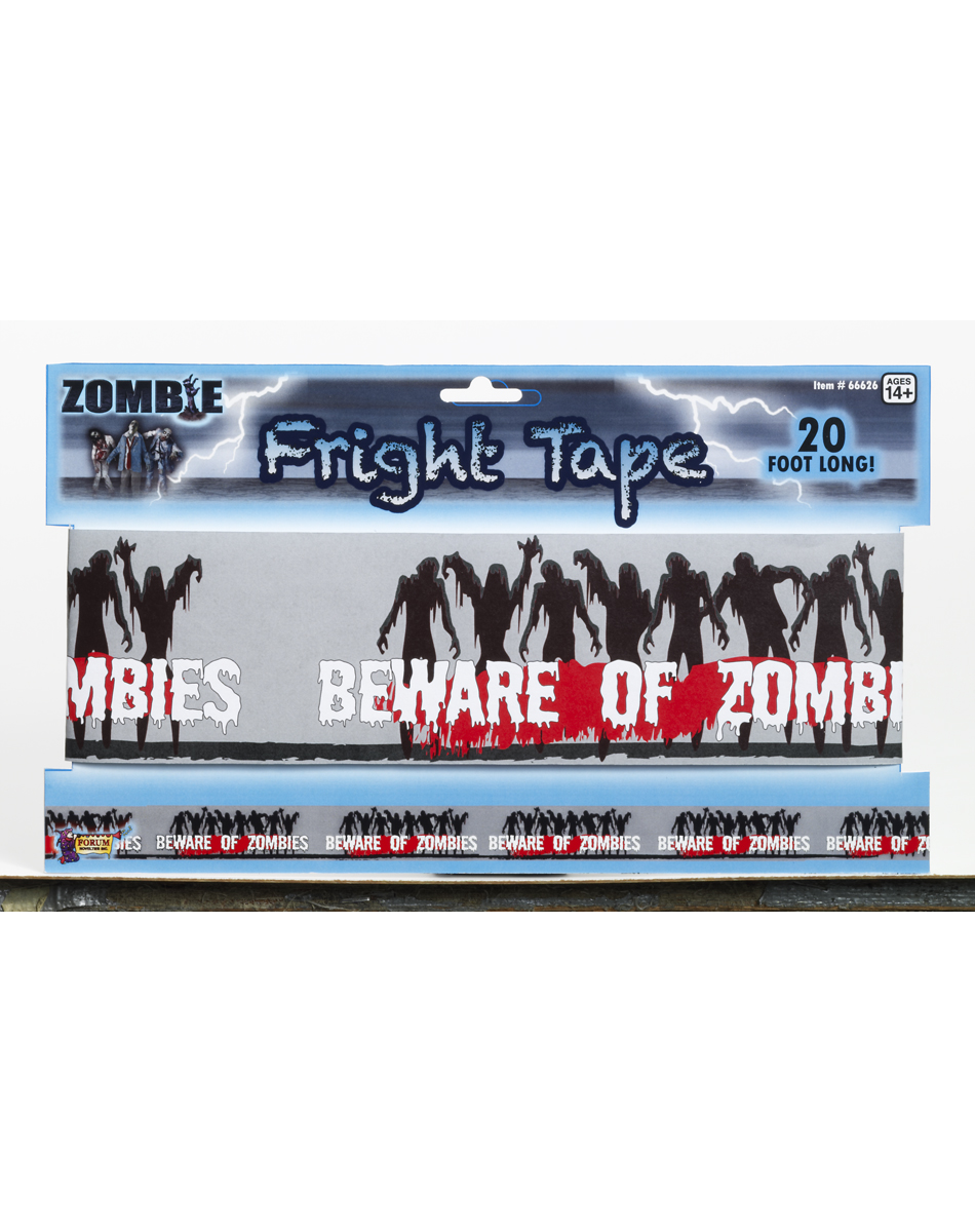 Zombie Warning Tape