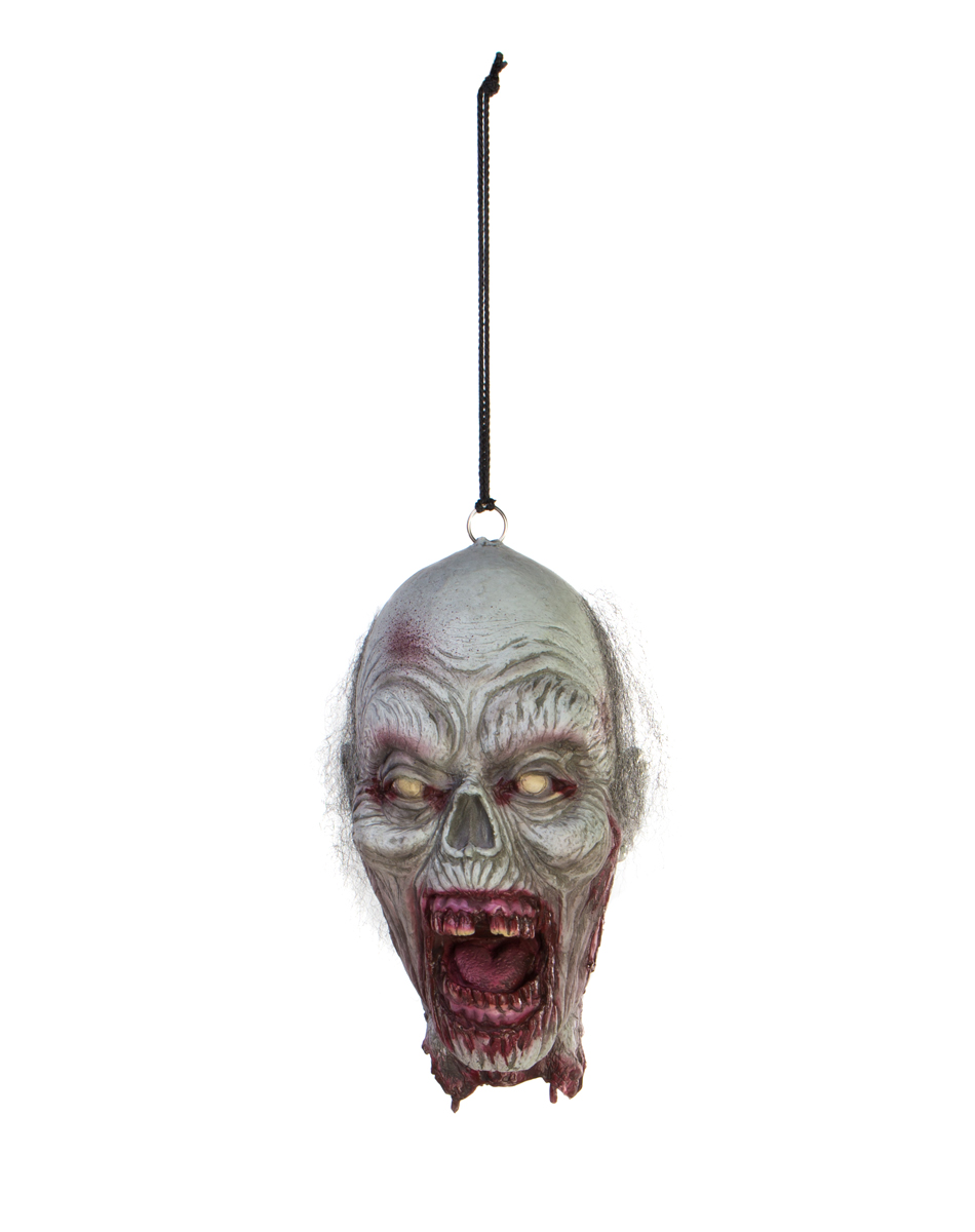 Zombie Woman Hanging Head