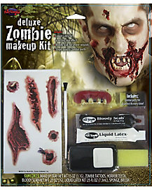 Zombie Makeup Kit with Teeth