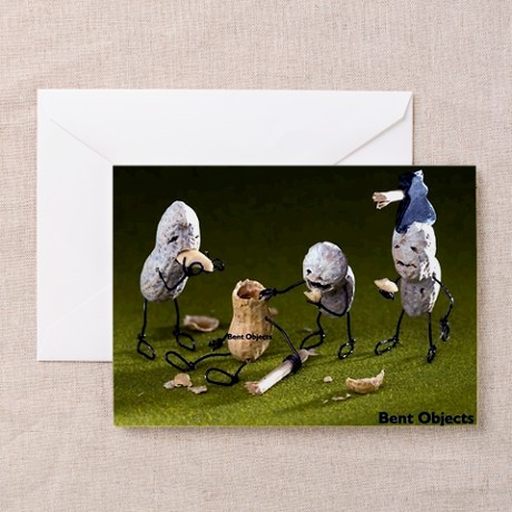 Zombienuts - Greeting Card