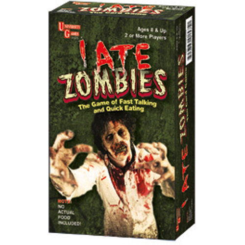 I Ate Zombies Card Games