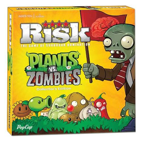 Risk Plants vs. Zombies Collector's Edition Board Game
