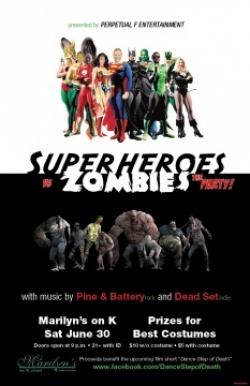 Superheroes vs Zombies