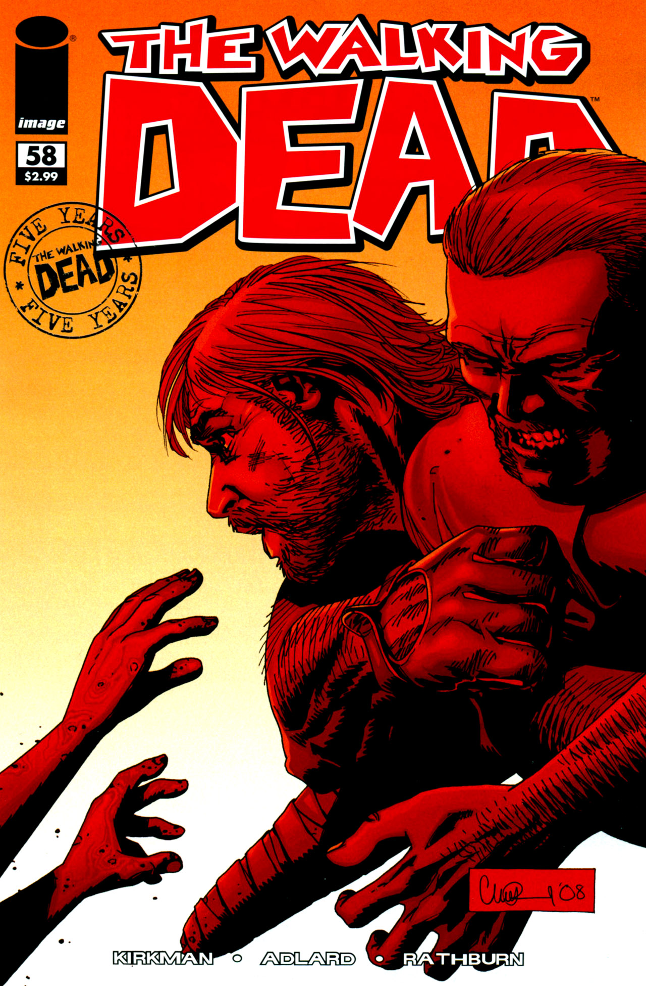 The Walking Dead Volume 58
