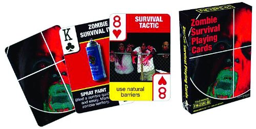 Zombie Card Playing Sets