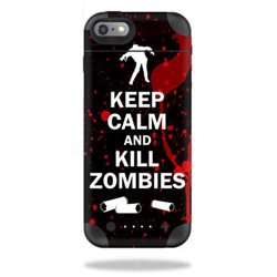 MightySkins Protective Vinyl Skin Decal for Mophie Juice Pack Air iPhone 6 cover wrap sticker skins Kill Zombies