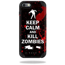 MightySkins Protective Vinyl Skin Decal for Mophie Juice Pack iPhone 6 Plus cover wrap sticker skins Kill Zombies