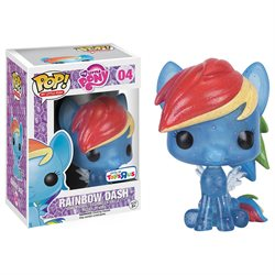 Funko POP! My Little Pony Elements of Friendship 3.75 - Rainbow Dash Glitter