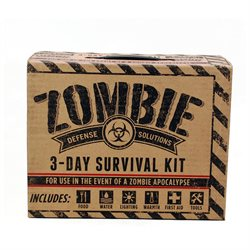 Zombie Defense Apocalypse Survival Kit Doomsday Preppers Bug Out Bag