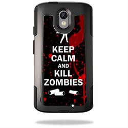 MightySkins Protective Vinyl Skin Decal for OtterBox Commuter Motorola Droid Turbo 2 wrap cover sticker skins Kill Zombies
