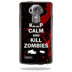MightySkins Protective Vinyl Skin Decal for Otterbox Symmetry LG G4 Case wrap cover sticker skins Kill Zombies