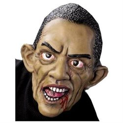 Funny Scary Zombie Obama President Halloween Costume Mask