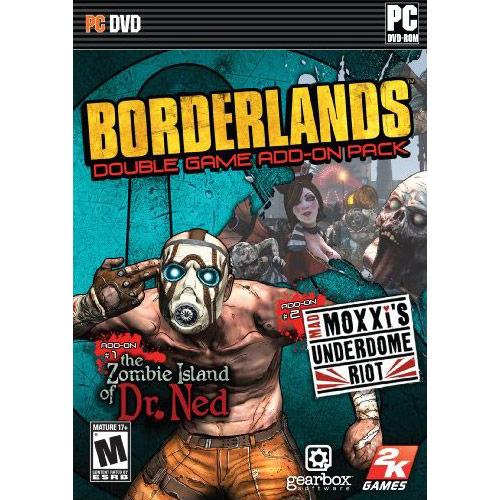 Borderlands Add-On Pack Zombie Island of Dr. Ned and Mad Moxxis Underdome Riot