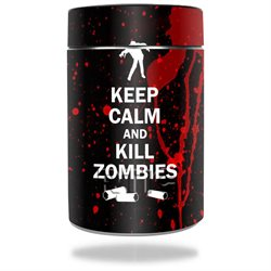 MightySkins Protective Vinyl Skin Decal for RTIC Can wrap cover sticker skins Kill Zombies