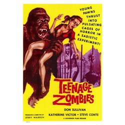 Teenage Zombies Poster Movie 27 x 40 In - 69cm x 102cm Don Sullivan Katherine Victor Chuck Niles