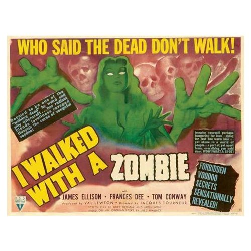I Walked With a Zombie Poster Movie C 11 x 17 In - 28cm x 44cm Frances Dee Tom Conway James Ellison Christine Gordon Edith Barrett Darby Jones