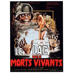 Zombie Lake Poster Movie French (11 x 17 Inches - 28cm x 44cm)