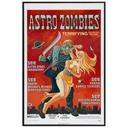 The Astro Zombies Poster Movie 11 x 17 In - 28cm x 44cm