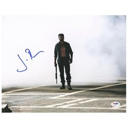 Jon Bernthal The Walking Dead Signed Authentic 11X14 Photo PSA/DNA #V20401