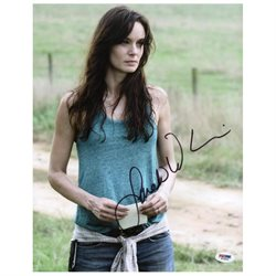 Sarah Wayne Callies Walking Dead Signed Authentic 11X14 Photo PSA/DNA #W79884