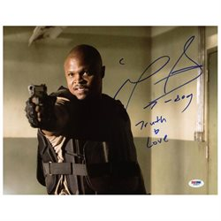 Irone Singleton The Walking Dead Signed Authentic 11X14 Photo PSA/DNA #W79877