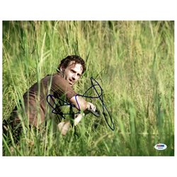 Andrew Lincoln The Walking Dead Signed Authentic 11X14 Photo PSA/DNA #W46305