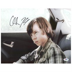 Chandler Riggs The Walking Dead Signed Authentic 11X14 Photo PSA/DNA #W80744