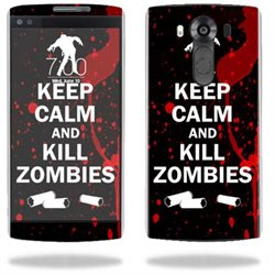 MightySkins Protective Vinyl Skin Decal for LG V10 case wrap cover sticker skins Kill Zombies