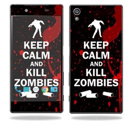 MightySkins Protective Vinyl Skin Decal for Sony Xperia Z5 case wrap cover sticker skins Kill Zombies