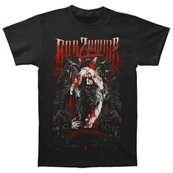 Rob Zombie Men's Krampus Holiday 2015 Christmas T-shirt Medium Black