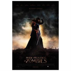 Pride and Prejudice and Zombies Movie Poster (11 x 17)