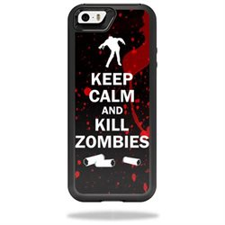 MightySkins Protective Vinyl Skin Decal for OtterBox Resurgence iPhone 5/5S Power Case cover wrap sticker skins Kill Zombies