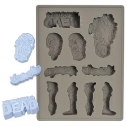 The Walking Dead Silicone Ice Cube Tray, Beverage Chiller