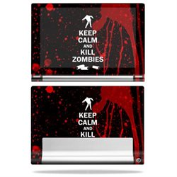 MightySkins Protective Vinyl Skin Decal for Lenovo Yoga Tablet 10 HD+ cover wrap sticker skins Kill Zombies