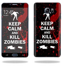 MightySkins Protective Vinyl Skin Decal for Samsung Galaxy Note 5 wrap cover sticker skins Kill Zombies