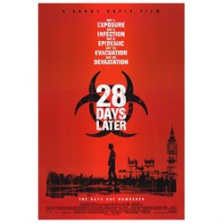 28 Days Later Movie Poster (27 x 40)