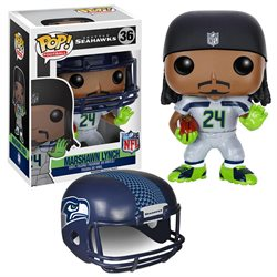 NFL Wave 2 Funko POP Vinyl Figure: Marshawn Lynch